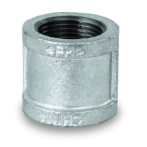 "1/2"" BANDED COUPLING GALVANIZED MALLEABLE"