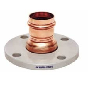 Copper Adapter Flange, 4 Bolt, P, 2''