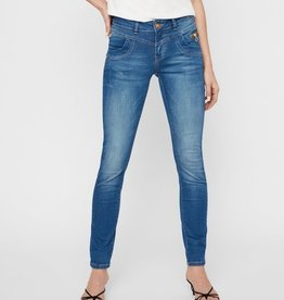 Mos Mosh Sharon Split Satin Jeans