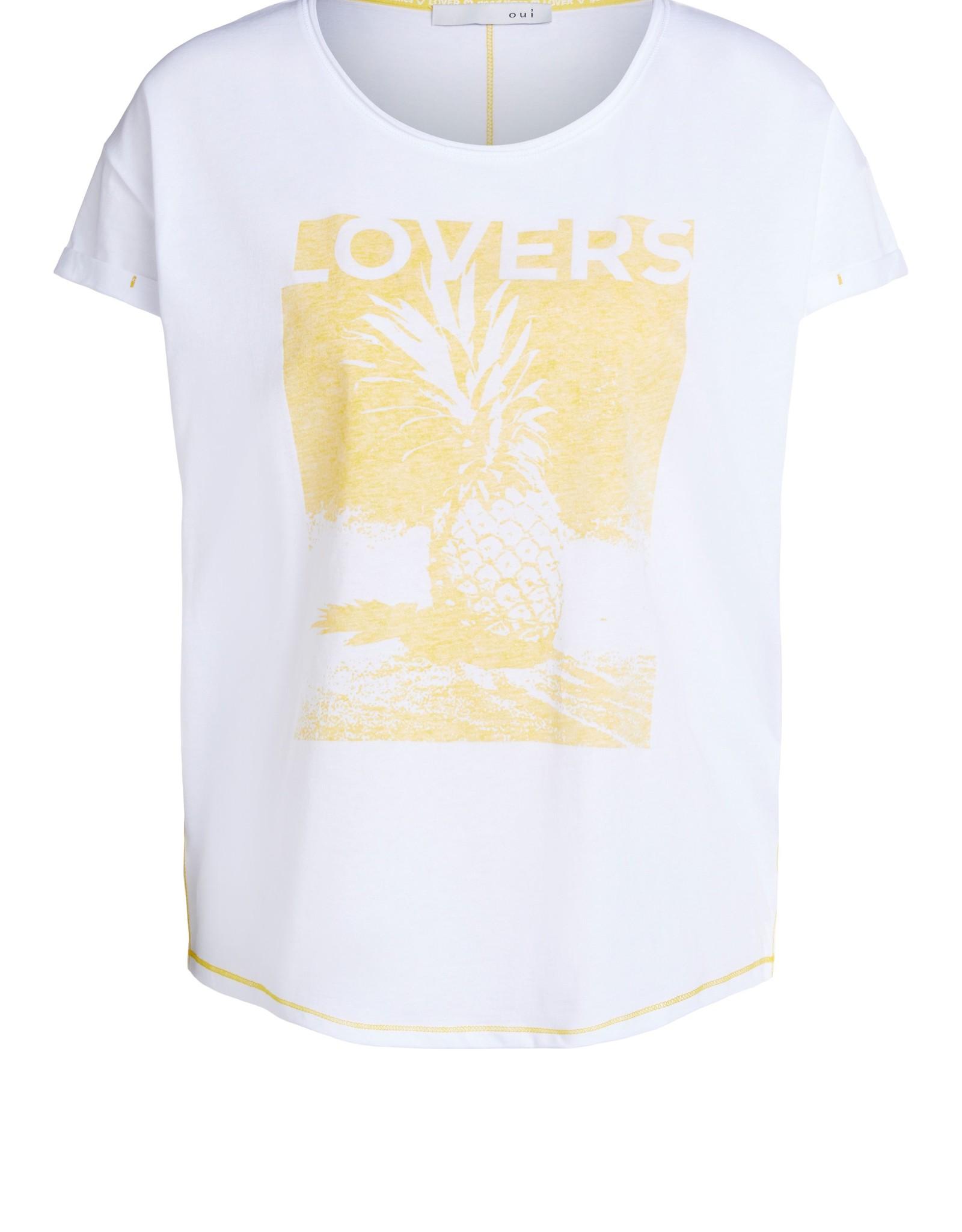 Ouí 72506 T-shirt avec imprimé