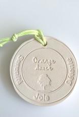 Margote Ceramiste Galet Orange Douce