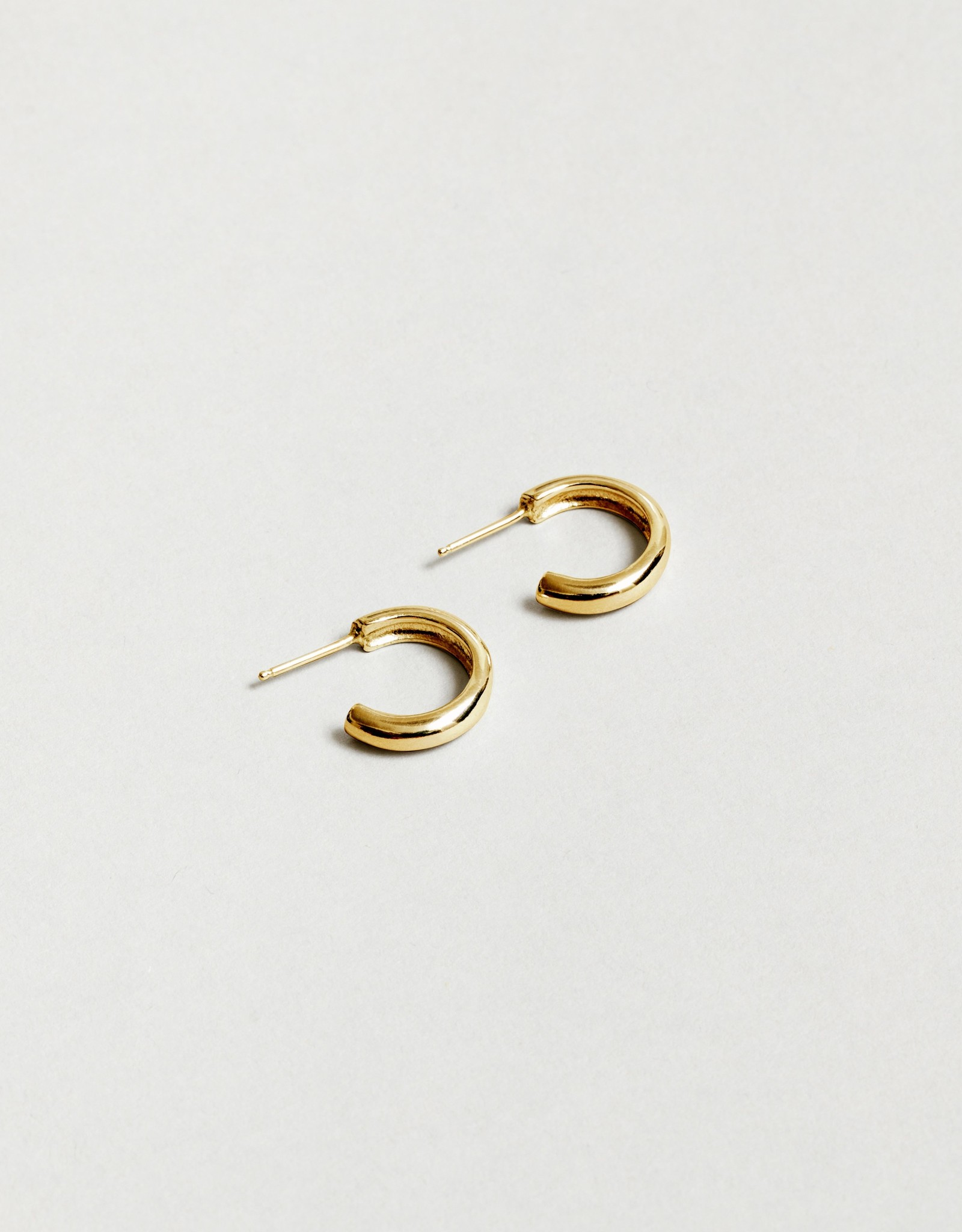 Wolf Circus Abbie Large Hoops in Gold