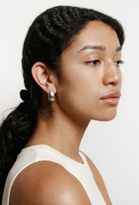 Wolf Circus Bodie Hoops in Sterling Silver