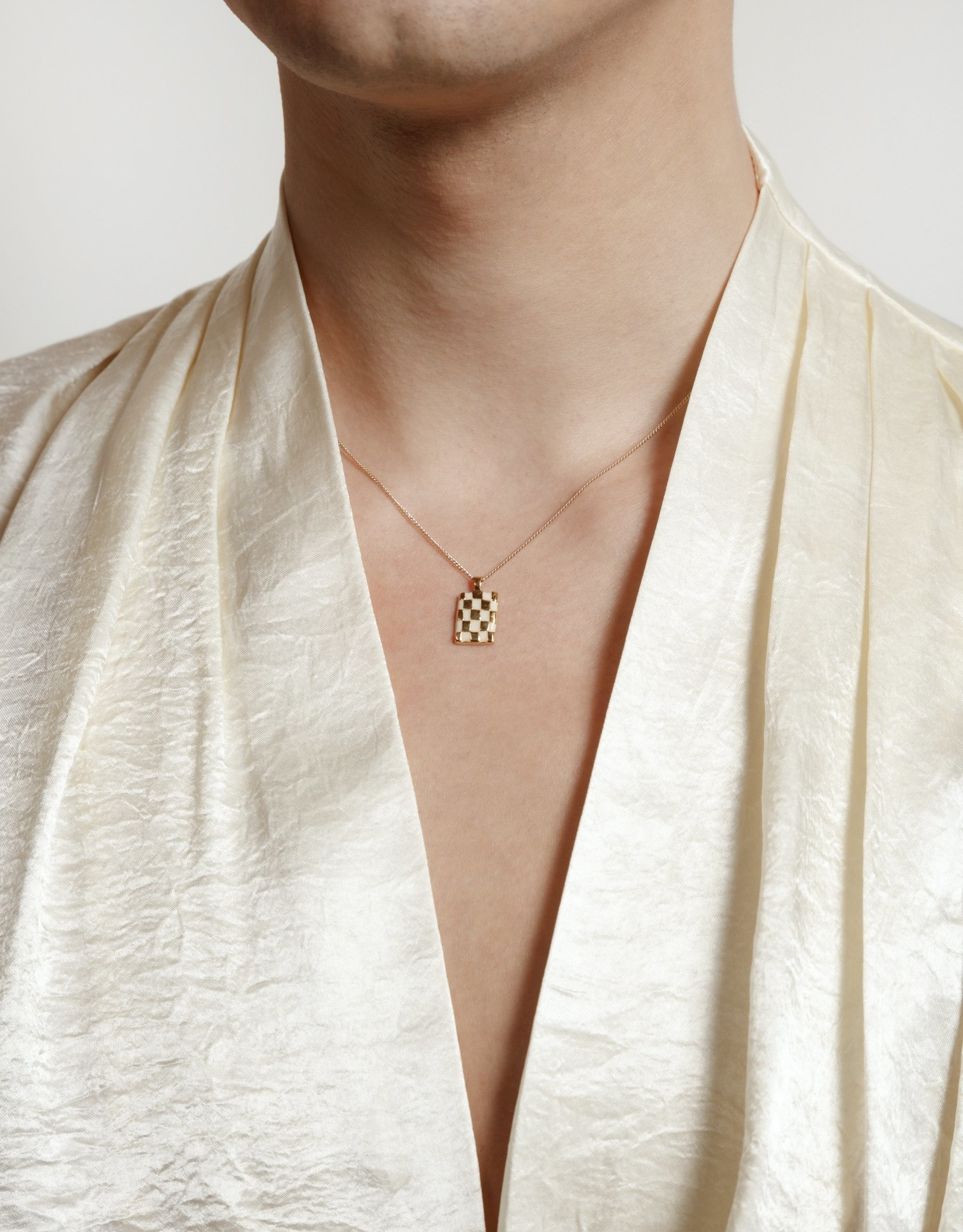 Wolf Circus Collier Penny Blanc