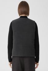 Eileen Fisher Veste matelassé en soie