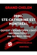 Grand Chelem JR membership + 125 free pitches