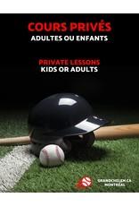 Grand Chelem Private lessons -Baseball & softball