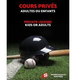 Grand Chelem Private lessons - Baseball & softball
