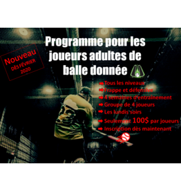 Programme balle donnee 18h