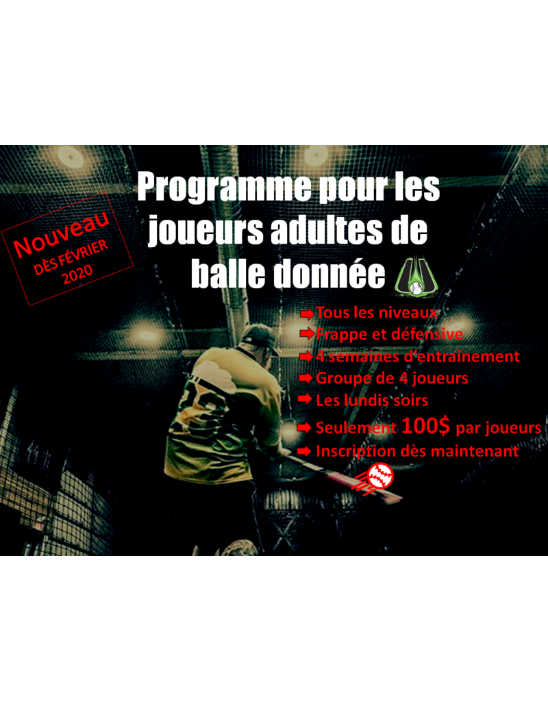 Programme balle donnee 17h