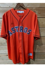 Majestic - Men's Orange Houston Astros Alternate Official Team (Signature Toro)