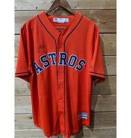 Majestic - Men's Orange Houston Astros Alternate Official Team (Signature Toro)