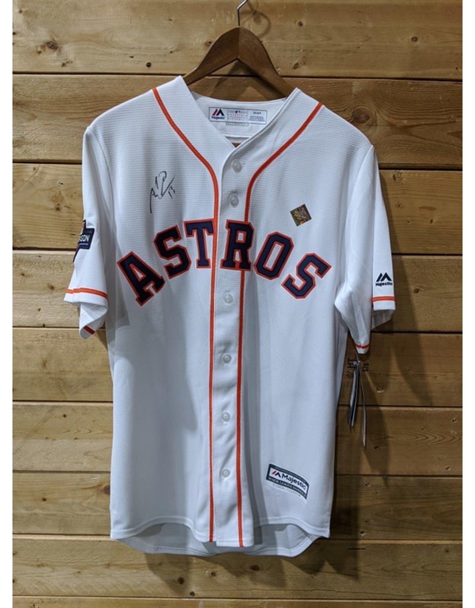 Majestic - Men's White Houston Astros 2019 Postseason Official (Signature Toro)
