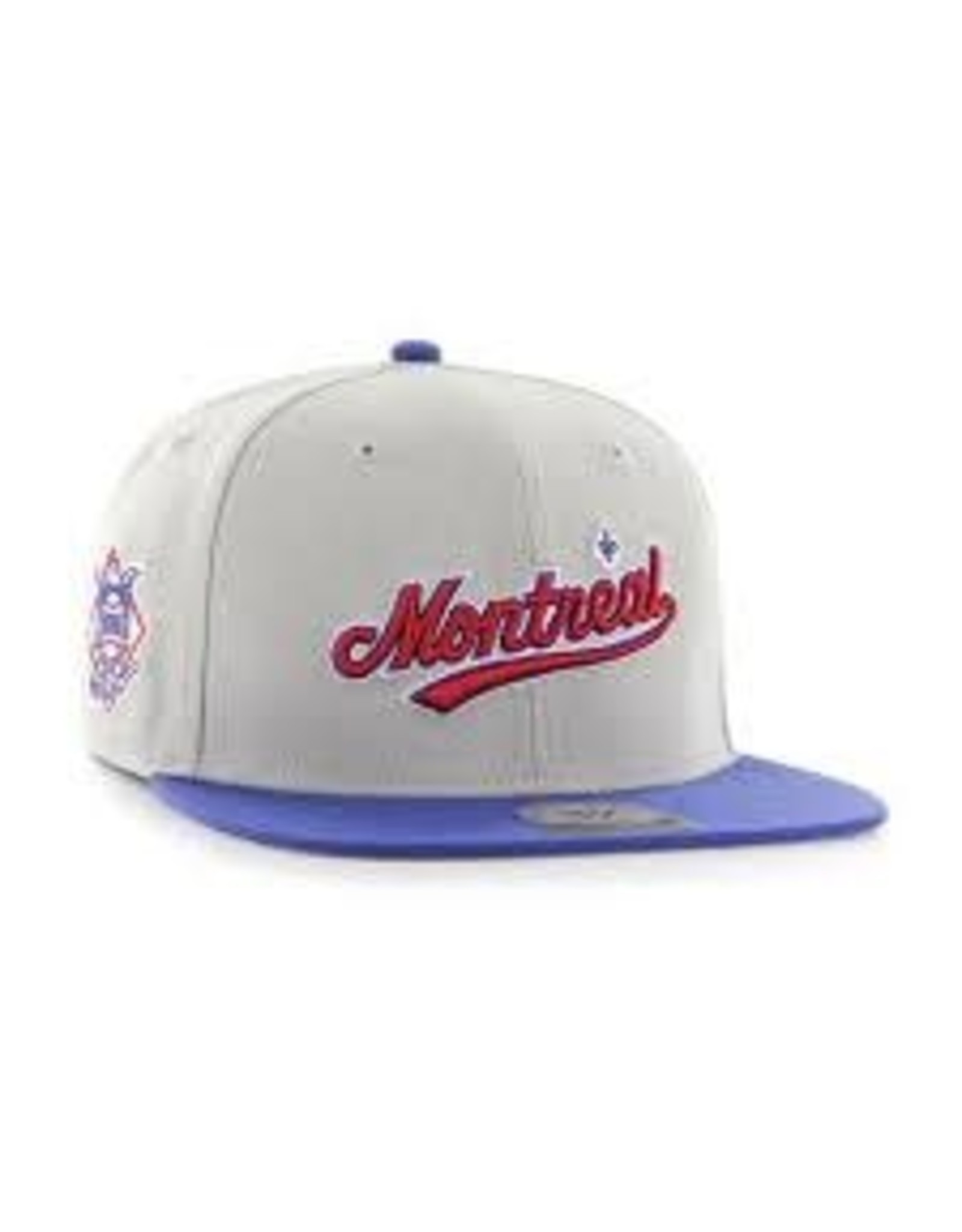 47 - Expos MLB Sure Shot 2 Tone Captain Cap