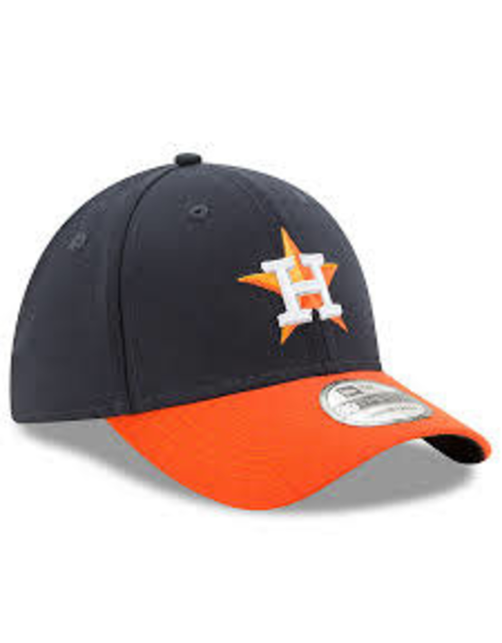 New Era - Houston Astros Road Team Classic 39THIRTY - Flex Hat - Navy/Orange