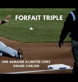 Forfait Triple