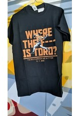 WHERE THE f*** IS TORO CLASSIC SHIRT - Justin Verlander / Third Career NoHitter