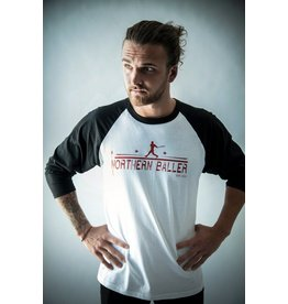 NORTHERN BALLER - T-Shirt Raglan Manches 3/4
