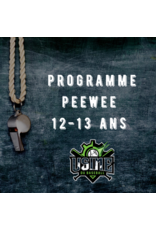 Usine du baseball Copy of Programme PeeWee  session automne 2020