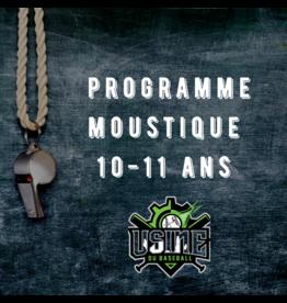 Usine du baseball Programme Moustique session automne 2020
