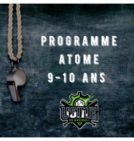 Usine du baseball Atome Program - Winter baseball 2018-19