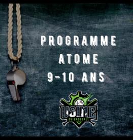 Usine du baseball Programme Atome session automne 2020