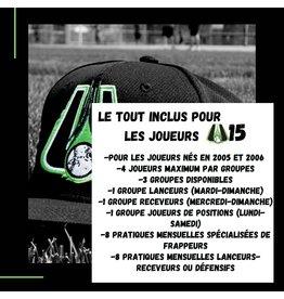 Copy of Tout inclus mensuel U15  Groupe lanceurs  (mardi-dimanche)