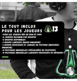 Copy of Tout inclus mensuel U13  (Groupe du mercredi et dimanche)