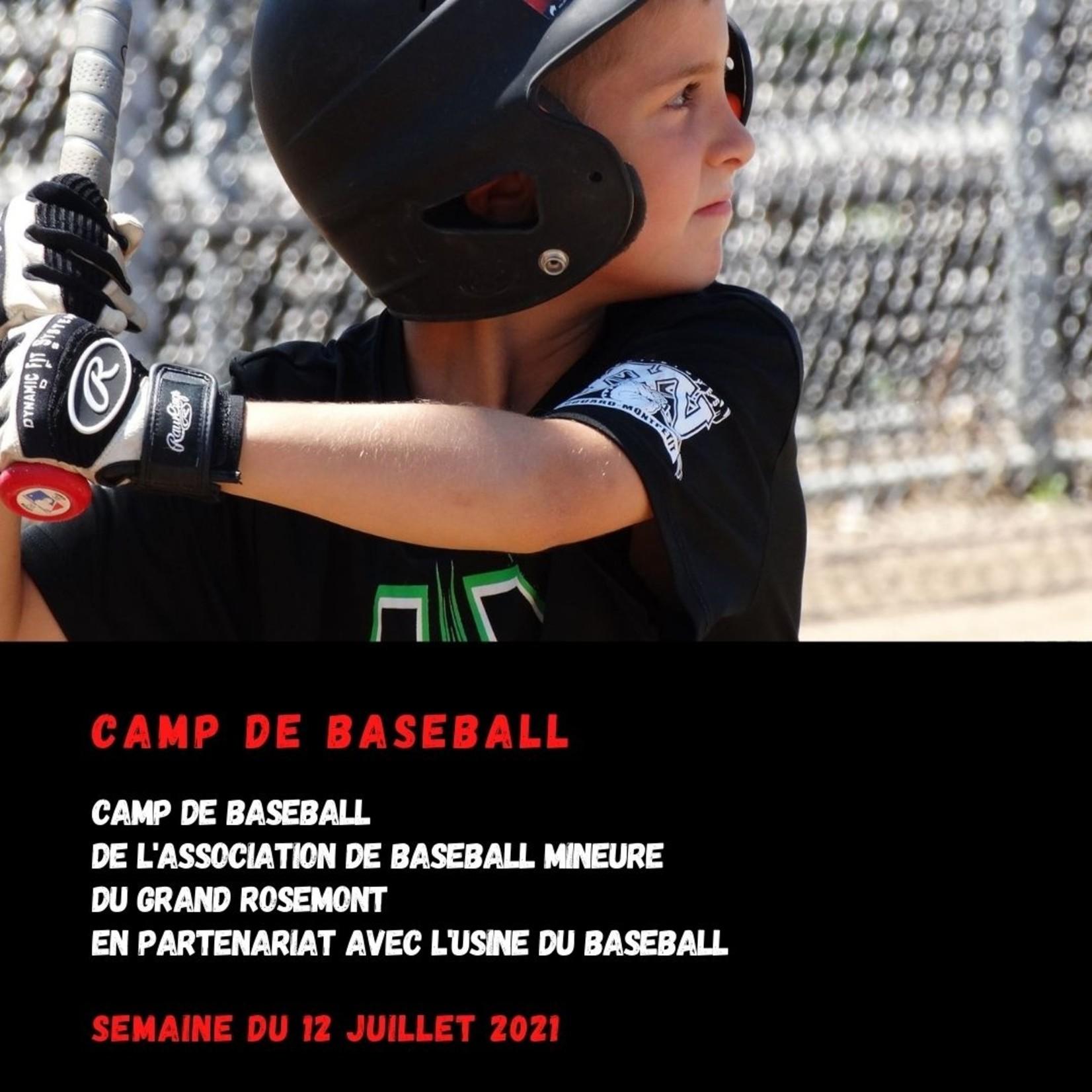 Copy of Camp baseball Rosemont 12 juillet U10 (9-10 ans)