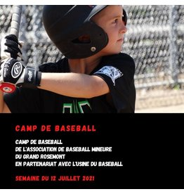 Camp baseball Rosemont 12 juillet U8 (7-8 ans)