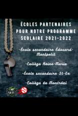 Premier paiement programme scolaire 2021-2022
