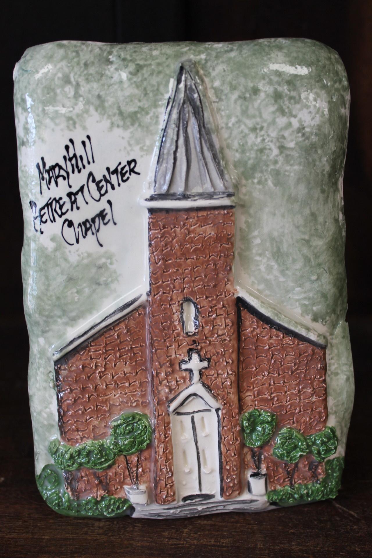 Architectural Memories Maryhill Retreat Center Chapel Plaque
