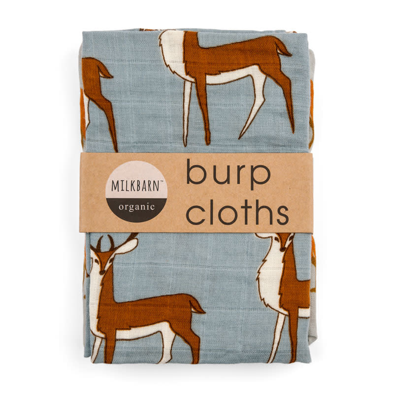 Milkbarn Organic Burpies Blue Buck