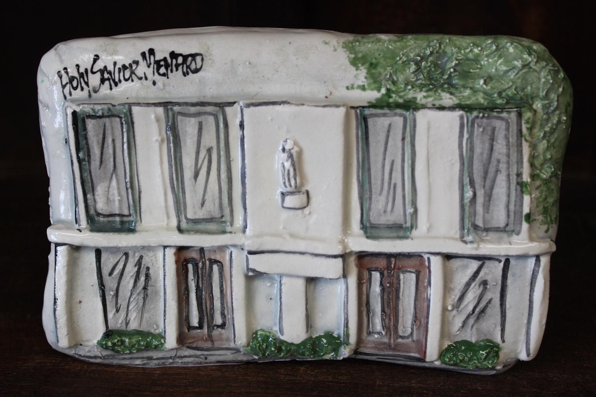 Architectural Memories Holy Savior Menard School Plaque