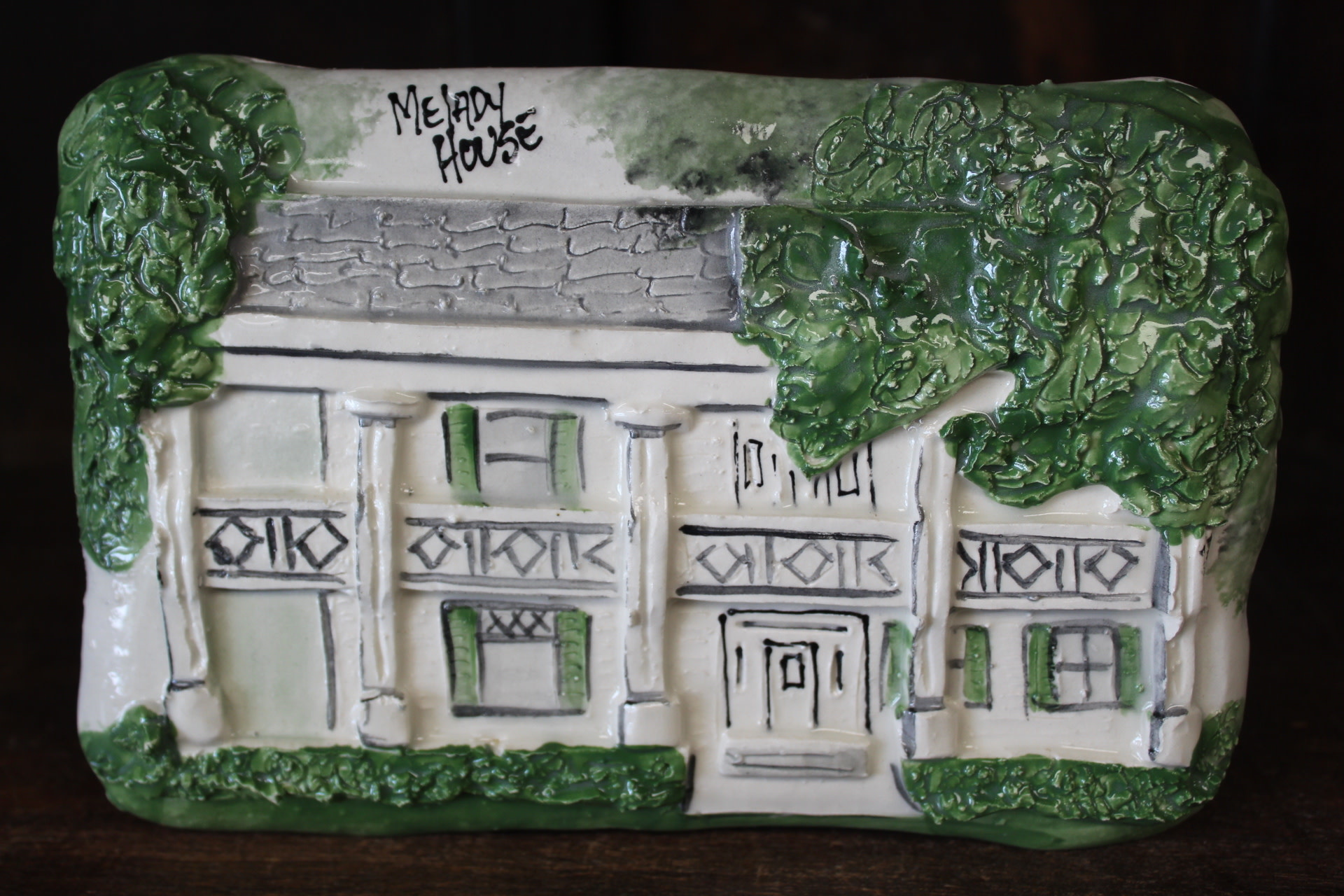 Architectural Memories Melady House Plaque