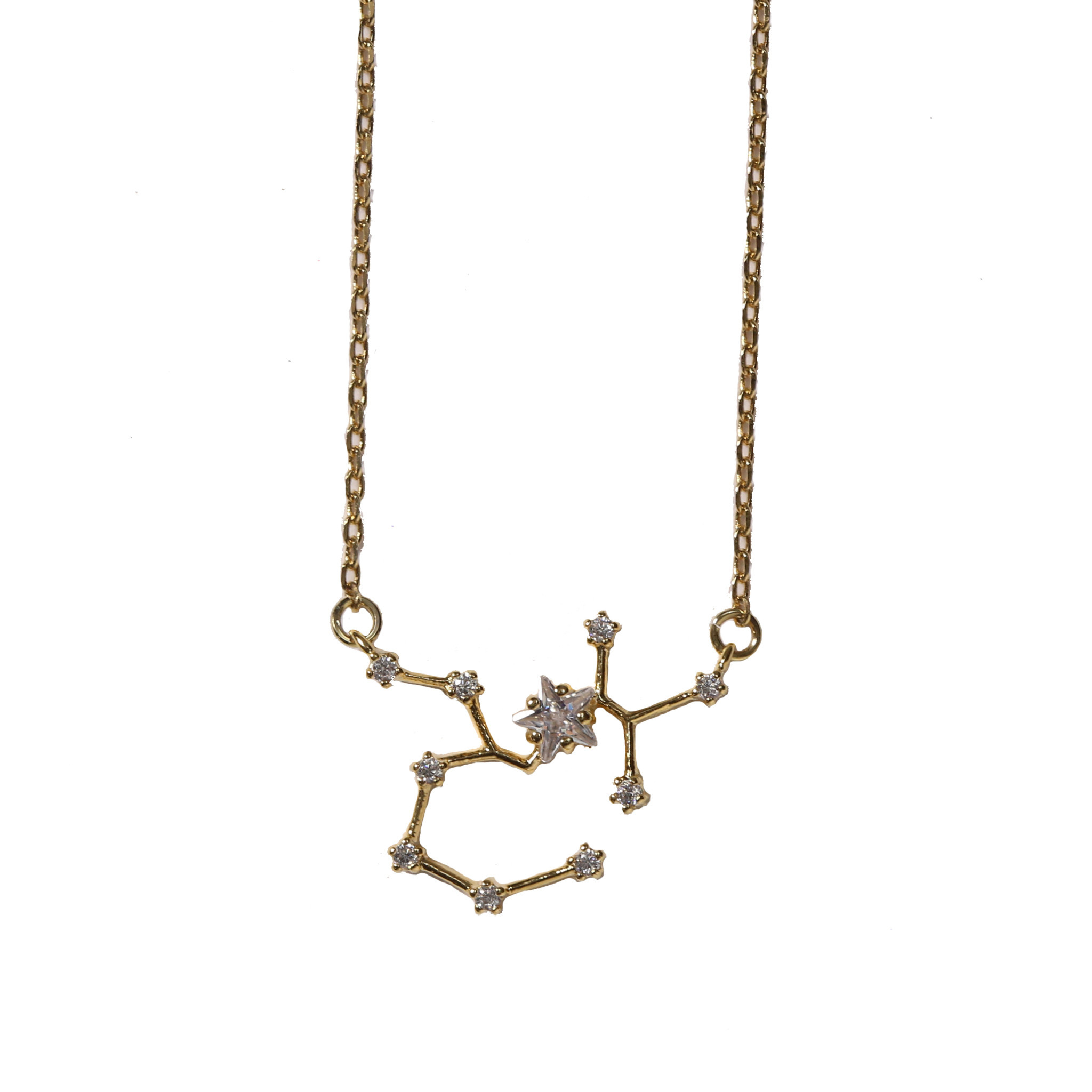 Beaucoup Designs Gold Dipped Constellation Necklace