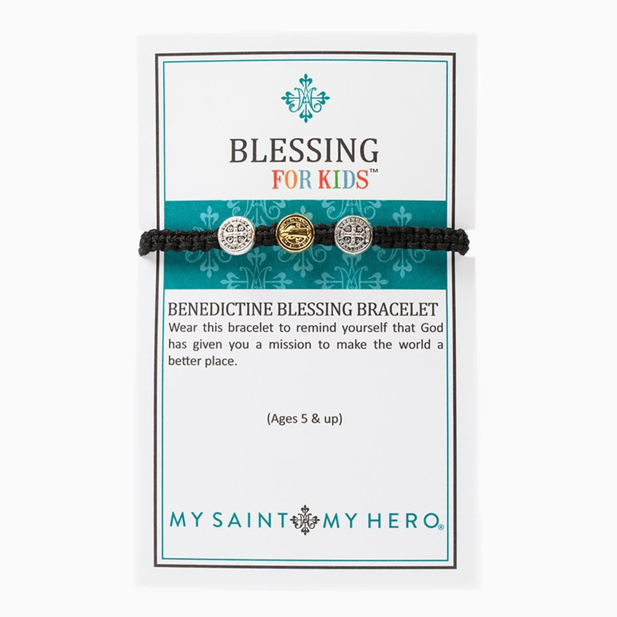 My Saint My Hero Kids Blessing Bracelet