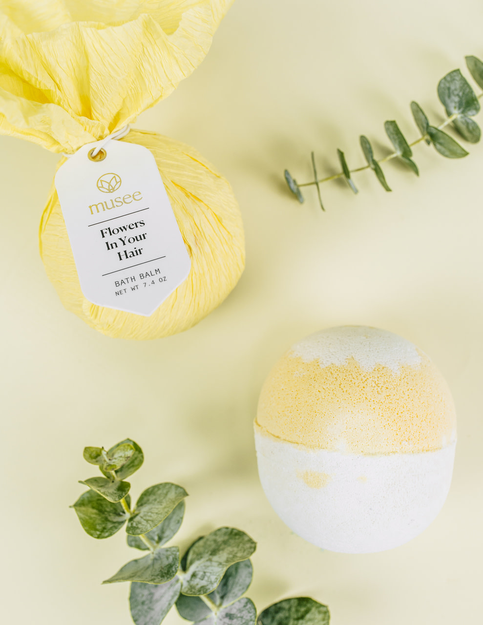Musee Flowers In Your Hair Bath Balm