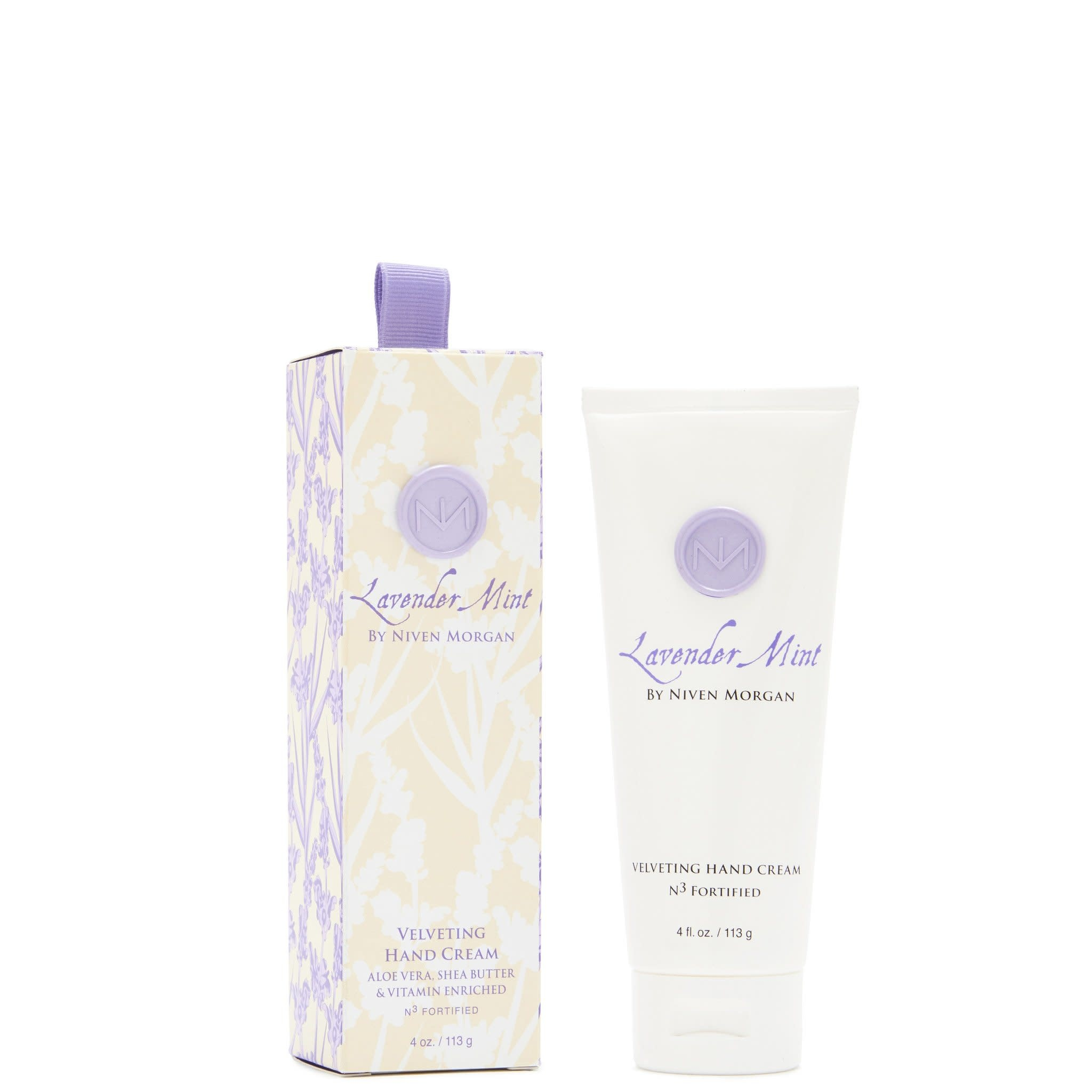 Niven Morgan Lavender Mint 4oz Hand Cream