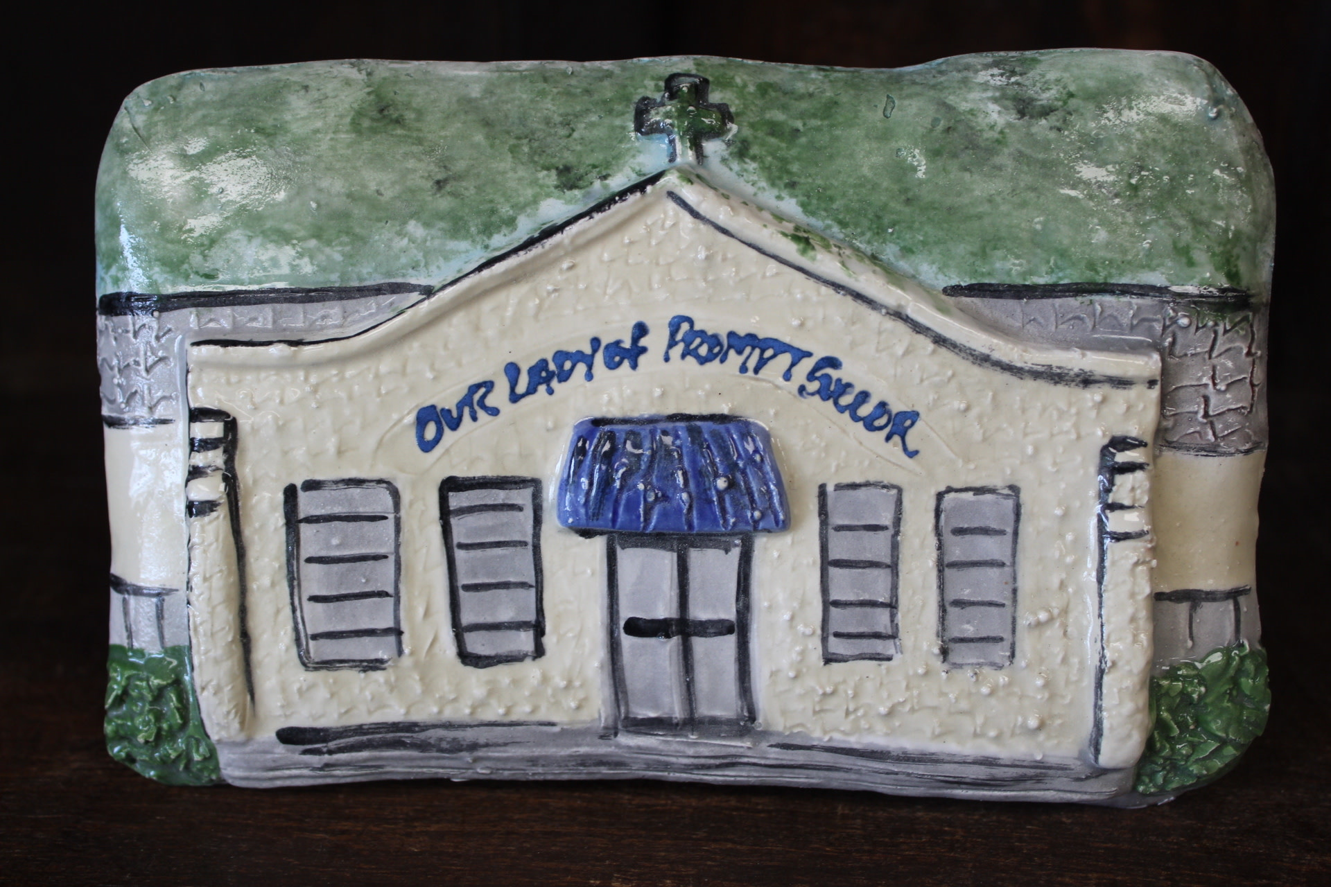 Architectural Memories OLPS School Plaque