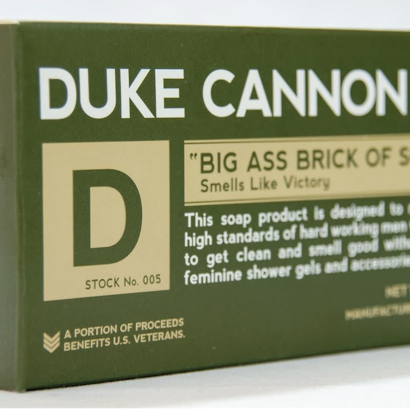 Duke Cannon Victory Big Ass Brick of Soap