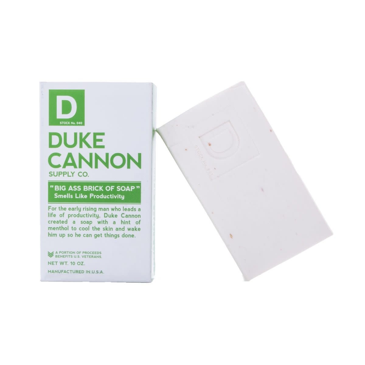 Duke Cannon Productivity Big Ass Brick of Soap
