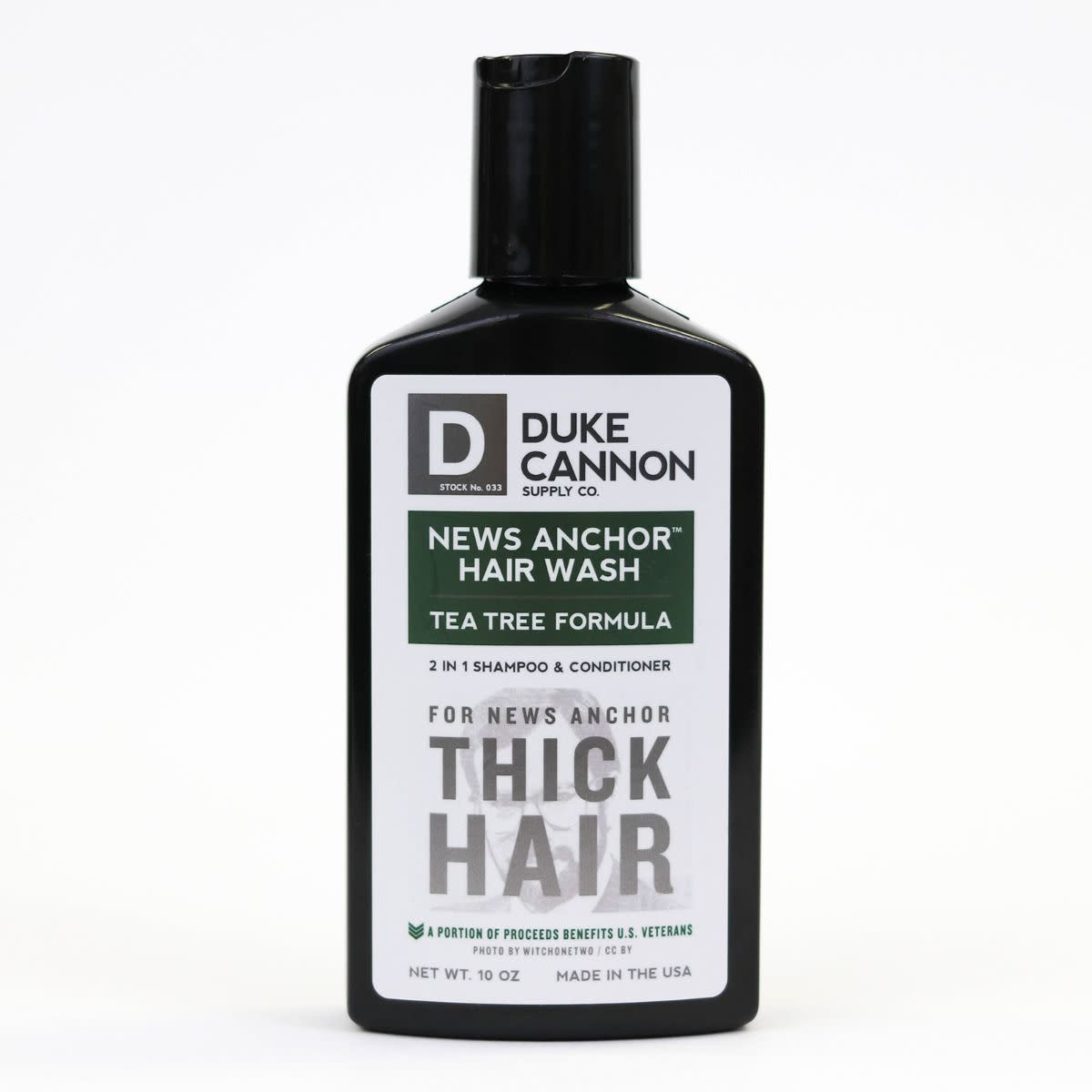 Duke Cannon Tea Tree News Anchor Hair Wash