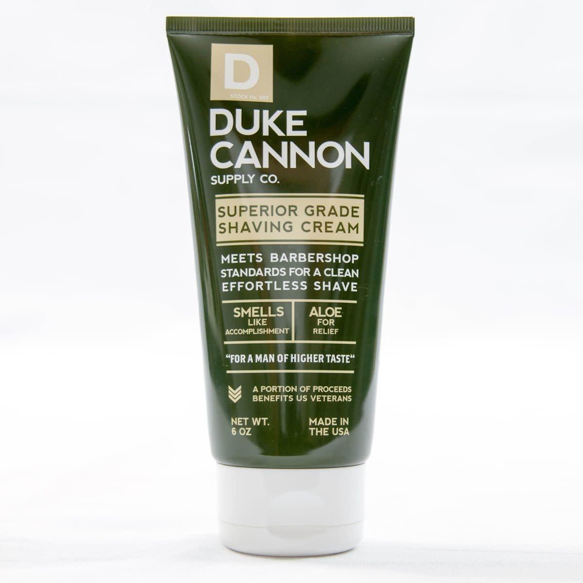 Duke Cannon Superior Grade Shave Cream