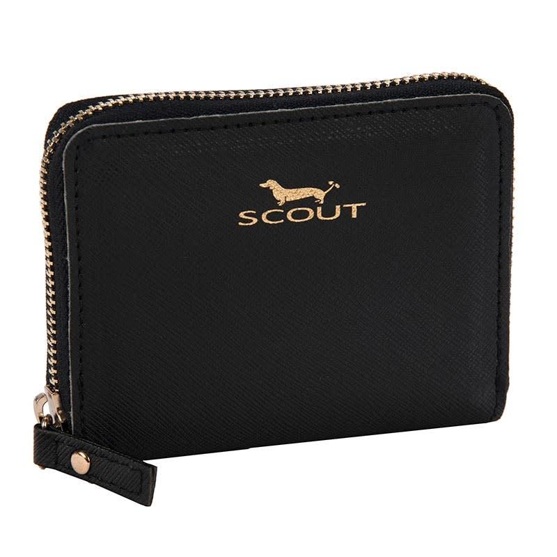 Scout Bags Black Pocket Change Wallet