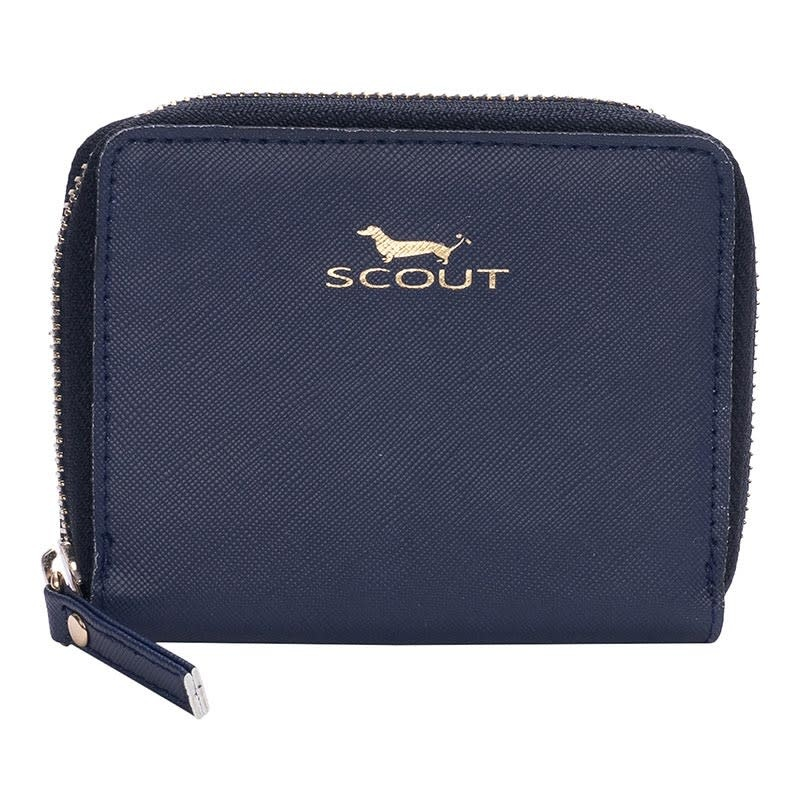Scout Bags Navy Pocket Change Wallet