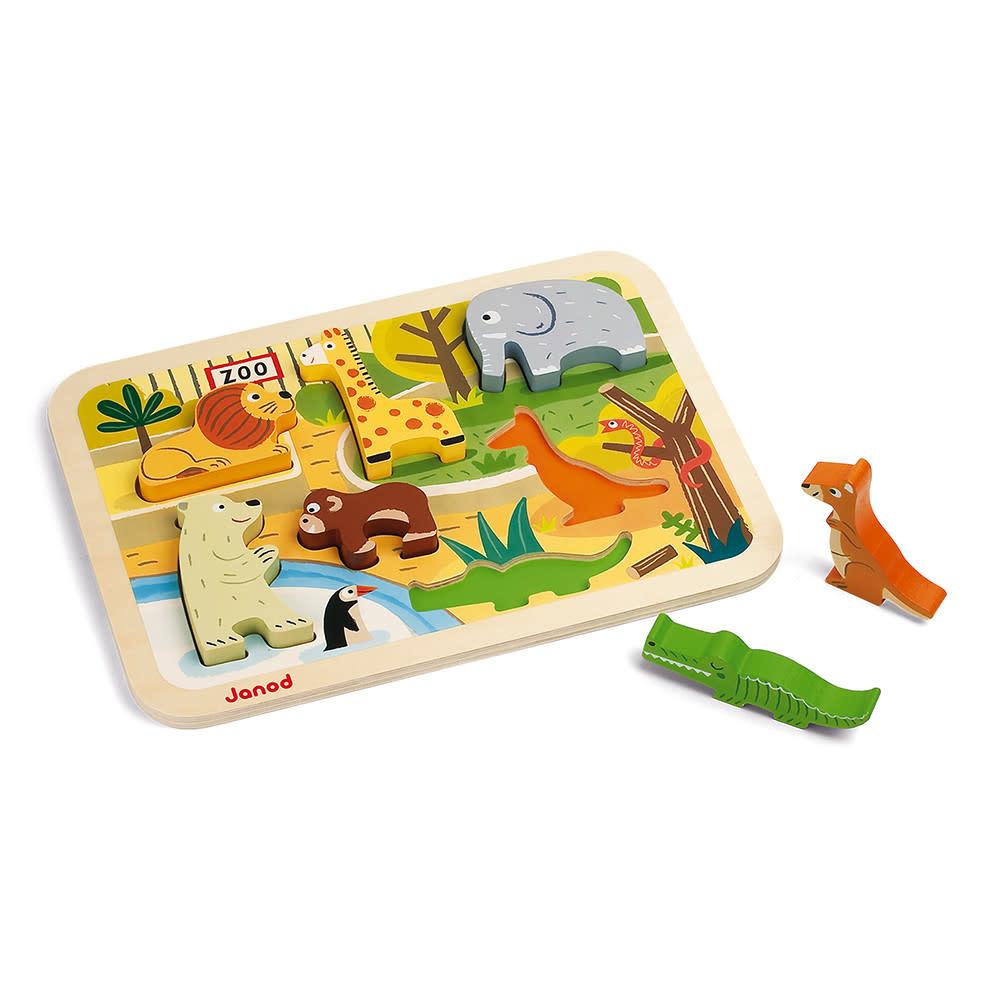 JuraToys Chunky Zoo Puzzle