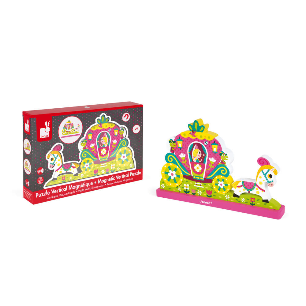 JuraToys Princess Magnetic Vertical Puzzle