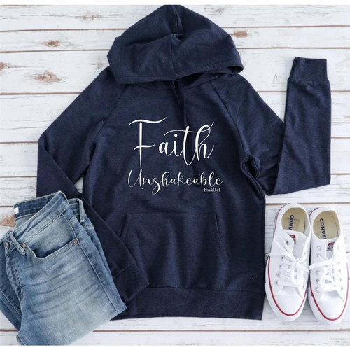 Fox and Owl Apparel Faith Unshakeable Pullover- Small-XL