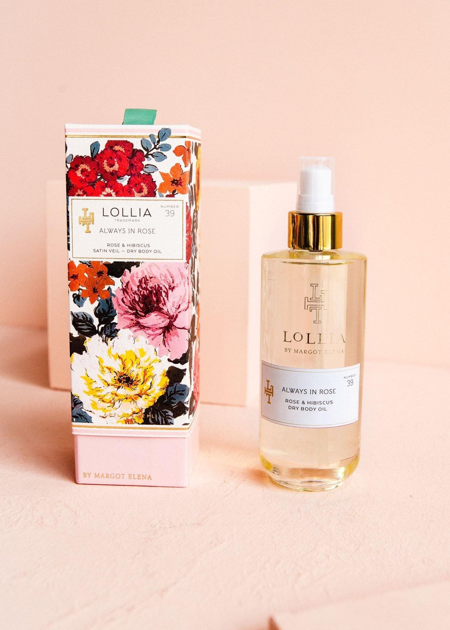 Lollia Always In Rose Dry Body Oil